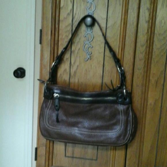 Brighton Handbags - BRIGHTON  Vintage    pebbled    leather   bag